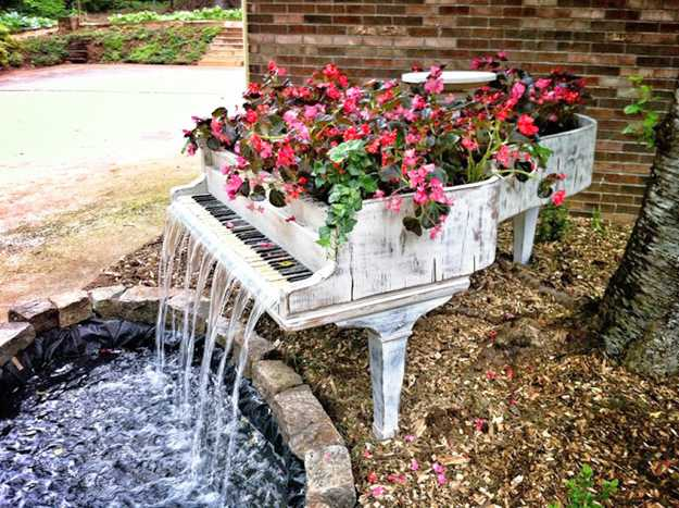 outdoor home decorating backyard ideas planters 4